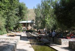 Святой источник в Галляаральском районе Джизакской области